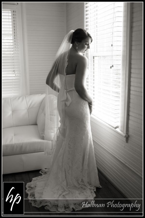 bride photo at Corley Mill House in Lexington SC