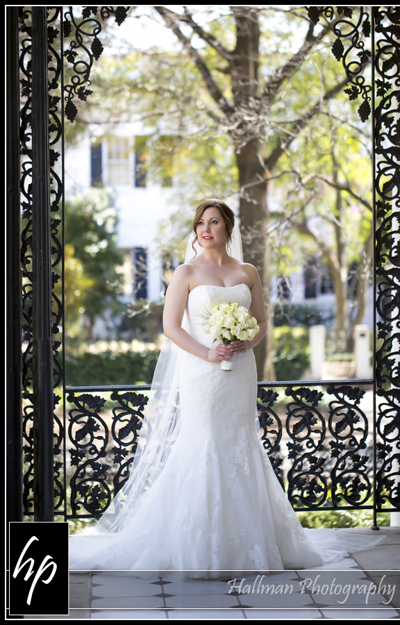 Bride at SC Lace House